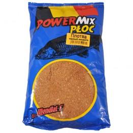 Прикормка Mondial-F Powermix Roach Black Amandel 1 кг (Плотва черный миндаль)